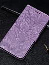 etui do Samsung Galaxy J6 / J6 (2018) / J6 Plus portfel / etui na karty / z podstawką etui pełne etui Flower PU Leather na J2 Pro (2018) / J6 / J6 (2018) / J4 / J4 Plus / J6 Plus