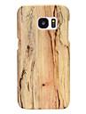 Kılıf Na Samsung Galaxy S8 Plus / S7 Edge / S7 Ultra cienkie Osłona tylna Tekstura drewna Skóra PU / PC