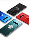 Kılıf Na Samsung Galaxy Galaxy S10 Plus Odporny na wstrząsy / Uchwyt pierścieniowy Osłona tylna Solidne kolory TPU