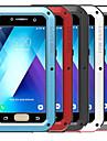 Kılıf Na Samsung Galaxy A3(2017) / A5(2017) Odporny na wstrząsy / Wodoszczelny Pełne etui Solidne kolory Twardość Metal