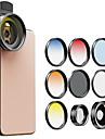 telefon osłona kamery obiektyw uniwersalny klip najwyższej jakości 0,45x szerokokątny obiektyw makro cpl nd8 grad 52mm zestaw obiektywów z filtrem