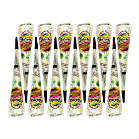 12 pcs Henna Cones Temporary Tattoos Non Toxic / Tribal Body Arts Face / Body / Hand