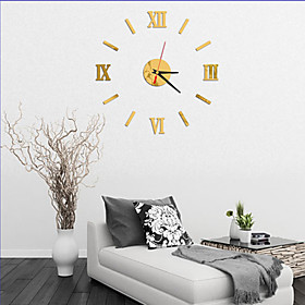 Modern Contemporary Wood / Plastic AA Decoration Wall Clock No Quantity:1; Total Batteries:1; Style:Modern Contemporary; Power Supply:AA; Material:Wood,Plastic; Suitable Rooms:Living Room; Batteries Included:No; Net Dimensions:5.05.05.0; Net Weight:0.2; Base Categories:Wall Clocks,Clocks,Decor,Home  Garden