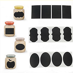 36Pcs Chalk Pen Chalkboard Sticker Labels Vinyl Kitchen Jar Decor Decals 5CM X 3.5CM Quantity:1; Material:Recycled Paper; Suitable Rooms:Kitchen; Net Weight:0.08; Base Categories:Cooking Tools  ,Kitchen Tools  Utensils,Kitchen  Dining,Home  Garden; Special selected products:COD