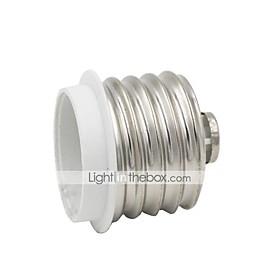 1pc E40 to E27 E27 Light Bulb Socket Quantity:1pc; Bulb Base:E27; Base Type:E40 to E27; Type:Light Bulb Socket; Listing Date:05/16/2017; Base Categories:Lighting,Lighting Fixtures,Bulb Accessories,Home  Garden; Popular Country:New Zealand,Sweden