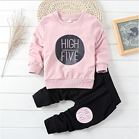 Toddler Boys' Clothing Set Other Solid Colored Cotton Blue Blushing Pink Season:Spring; Fabric:Cotton; Gender:Boys'; Note:Wash it before you wear; Kids Apparel:Clothing Set; Age Group:Toddler; Pattern:Solid Colored,Other; Front page:FF; Listing Date:08/07/2017; Bust:; Hips:; Length [Bottom]:; Length [Top]:; Sleeve:; SizeChart1_ID:636:276006; Base Categories:Kids' Clothing Sets,Kids' Clothing,Clothing,Apparel  Accessories; Special selected products:Clearance