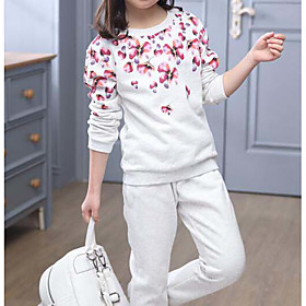Kids Girls' Clothing Set Other Cotton Blushing Pink Light gray Season:Fall; Fabric:Cotton; Gender:Girls'; Note:Wash it before you wear; Kids Apparel:Clothing Set; Age Group:Kids; Pattern:Other; Front page:FF; Net Weight:0.000; Listing Date:10/16/2017; Bust:null; Length [Bottom]:null; Length [Top]:null; SizeChart1_ID:636:376461; Base Categories:Kids' Clothing Sets,Kids' Clothing,Clothing,Apparel  Accessories