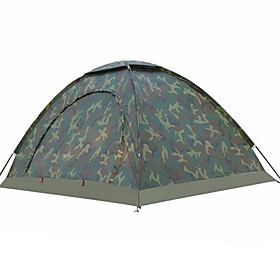 2 person Tent Outdoor UV Resistant Rain Waterproof Single Layered Poled Camping Tent <1000 mm for Fishing Beach Camping / Hiking / Caving Nylon 200150110 cm
