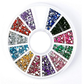 1 pcs Multi Function Rhinestone Rhinestones For Creative nail art Manicure Pedicure Daily Trendy / Fashion