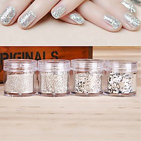 1 pcs Multi Function Eco-friendly Material Sequins For Creative nail art Manicure Pedicure Daily Trendy / Fashion