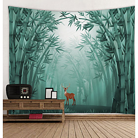 Garden Theme / Floral Theme Wall Decor 100% Polyester Modern Wall Art, Wall Tapestries Decoration