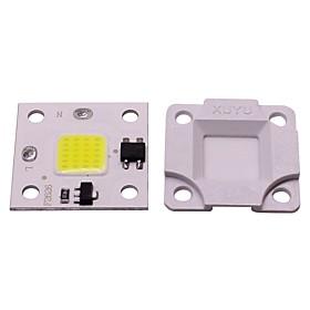 1pc 10W Mini DIY Free Drive SMD Smart IC LED Flip chip AC 220V White Warm White for DIY LED Flood Light Spotlight