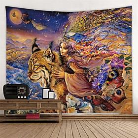 Garden Theme / Classic Theme Wall Decor 100% Polyester Modern Wall Art, Wall Tapestries Decoration
