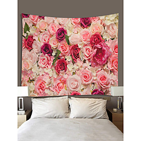 Garden Theme / Floral Theme Wall Decor 100% Polyester Classic / Modern Wall Art, Wall Tapestries Decoration