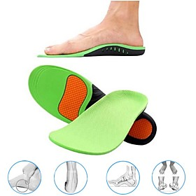1 Pair Orthopedic Shoes Sole Insoles for Shoes Arch Foot Pad X/O Type Leg Correction Flat Foot Arch Support Sports Shoes Inserts