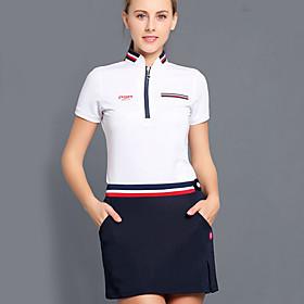 Women's Basic Mini Bodycon Skirts - Solid Colored White Navy Blue M L XL / Slim