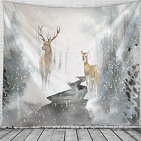 Garden Theme / Classic Theme Wall Decor 100% Polyester Classic / Modern Wall Art, Wall Tapestries Decoration