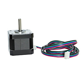 42x38mm Nema 17 Stepper Motor 1.5A 2 Phase 4 Wires 1.8 Degree with 39.3 inch Cable for Creality CR-10 10S Ender 3 3D Printers/CNC Extruder and Y Axis