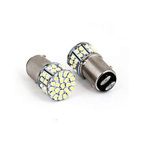 1157 3528 50SMD LED Car Brake Stop Tail Light Lamp Bulb White New 50 led 50smd 50led 2PCS