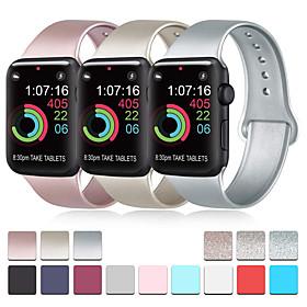 Uhrenarmband für Apple Watch Series 4 / Apple Watch Series 3 / Apple Watch Series 2 Apple Sport Band Silikon Handschlaufe Was ist in der Box:Uhrenarmbänder1; Art:Sport Band; Bandmaterial:Silikon; Für:Apple; Kotierung:01/20/2020; Produktionsmodus:Fremdbeschaffung; SmartWatch-kompatibles Modell:Apple Watch Series 1,Apple Watch Series 4,Apple Watch Series 3,Apple Watch Series 2; Speziell ausgewählte Produkte:COD