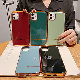 Case For Apple iPhone 11 / iPhone 11 Pro / iPhone 11 Pro Max Shockproof / Plating / Pattern Back Cover Heart / Solid Colored PC What's in the box:Case1; Type:Back Cover; Material:PC; Compatibility:Apple; Pattern:Heart,Solid Colored; Features:Pattern,Shockproof,Plating; Listing Date:02/12/2020; Production mode:External procurement; Phone/Tablet Compatible Model:iPhone 11,iPhone 8 Plus,iPhone XS Max,iPhone 8,iPhone XR,iPhone XS,iPhone 6,iPhone 6 Plus,iPhone 6s,iPhone SE 2020,iPhone 6s Plus,iphone 7/8,iPhone 7,iPhone 11 Pro Max,iPhone 7 Plus,iPhone 11 Pro,iPhone X