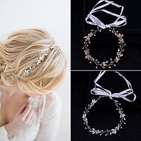 Women's Hair Jewelry For Wedding Engagement Party Wedding Alloy Silver Golden 1pc Gender:Women's; Quantity:1pc; Theme:Wedding; Jewelry Type:Hair Bandeau,Hair Jewelry; Occasion:Wedding,Engagement Party; Material:Alloy; Shipping Weight:1.2; Package Dimensions:40.040.040.0; Listing Date:05/11/2020