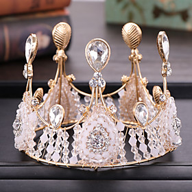 Women's Girls' Hair Jewelry For Wedding Engagement Party Birthday Party Wedding Alloy Golden 1pc Gender:Girls',Women's; Quantity:1pc; Theme:Wedding; Jewelry Type:Hair Jewelry; Occasion:Engagement Party,Wedding,Birthday Party; Material:Alloy; Shipping Weight:1.1; Package Dimensions:35.035.035.0; Listing Date:05/11/2020