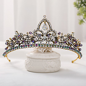Women's Hair Jewelry For Wedding Engagement Party Wedding Alloy Bronze Rainbow 1pc Gender:Women's; Quantity:1pc; Theme:Wedding; Style:Retro; Jewelry Type:Diadem,Hair Jewelry; Occasion:Wedding,Engagement Party; Material:Alloy; Shipping Weight:1.6; Package Dimensions:50.050.050.0; Listing Date:05/11/2020