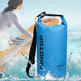 3/5/10/15/20 L Waterproof Dry Bag Lightweight Floating Roll Top Sack Keeps Gear Dry for Swimming Surfing Water Sports