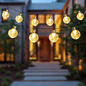 1.5m 2m 3m 4m 5m 10m 20m String Lights  High Power LED  Warm White White Blue Christmas New Year's Creative Party Decorative Garden Yard Decoration Lamp  AA Ba