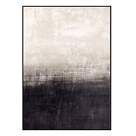 100% Hand Painted Abstract Canvas Oil painting Modern Canvas Art Wall Art Pictures for Living Room Home Decor Nordic Black White Painting Rolled Without Frame