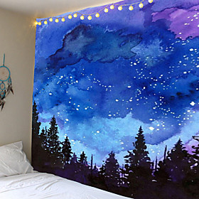 Colorful smudged star tapestries sun and moon wall tapestries tarot cards wall hangings psychedelic carpets wall hangings