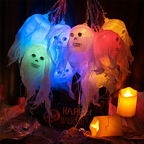 Halloween Party Toys LED Lighting String Lights Skull Skeleton Plastic Kid's Adults Trick or Treat Halloween Party Favors Supplies