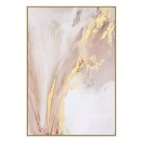 100% Hand painted Modern Wall Pictures for Living Room Art Luxury Poster Abstract Oil Painting on Canvas Handmade Home Decor Rolled Without Frame