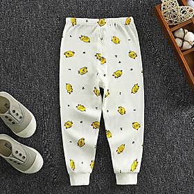 Kids Boys' Basic Print Print Pants White