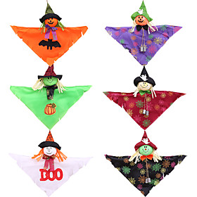 Halloween Party Toys Halloween Hanging Ghost Ghost Cartoon Cloth Kid's Adults Trick or Treat Halloween Party Favors Supplies