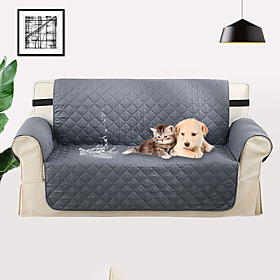 Easy-Going Sofa Slipcover Reversible Sofa Cover Water Resistant Couch Cover Furniture Protector with Elastic Straps for Pets Kids Children Dog Cat