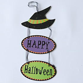 1pc Halloween Decorations Halloween Entertaining / Decorative Objects Holiday Decorations Party Garden Pumpkin Ghost Witch Bat Wedding Decoration 4518 cm