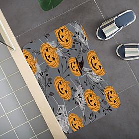 Halloween Pattern Rug Door Mat Hallway Carpets Area Rugs for Bedroom Living Room Carpet Kitchen Bathroom Anti-Slip Floor Mats