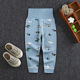 Kids Boys' Basic Print Print Pants Blue