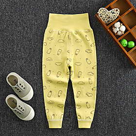 Kids Boys' Basic Print Print Pants Yellow