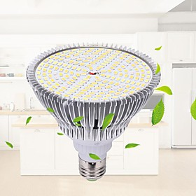 1pc 27 W 15340.9 lm 184 LED Beads Cute Creative Full Spectrum LED Grow Lights Growing Light Fixture Warm White 85-265 V Home / Office Vegetable Greenhouse Chri