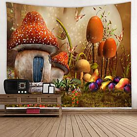 Garden Theme / Fairytale Theme Wall Decor 100% Polyester Modern Wall Art, 150100 cm Decoration