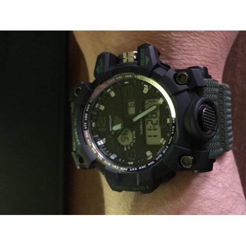 ... SANDA Férfi Sportos óra Intelligens Watch Karóra Japán Digitális  Szilikon Fekete   Fehér   Barna 30 c6444c4205