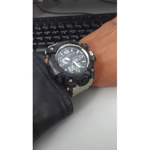 SANDA Férfi Sportos óra Intelligens Watch Karóra Japán Digitális Szilikon  Fekete   Fehér   Barna 30 8ec3c99c29