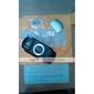 PSP 1000를위한 배터리 커버 (실버)