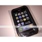 capa protetora de silicone para o iPhone 3G/3GS (preto)