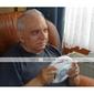 Manette Volant de Course pour Wii/Wii U - Blanc