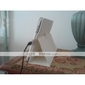 Protective Hard PU Leather Case + Stand for iPad 2/3/4 (White)