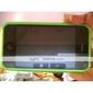 силиконовый защитный чехол для iphone 3g/3gs (зеленый)